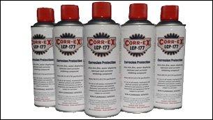 Corrosion inhibitor spray